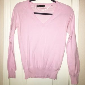 Zara pink sweater size medium